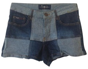 L.E.I. Stretchy Patchwork Shorts