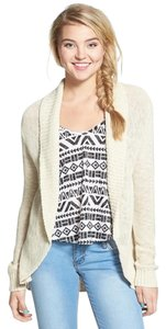 Nordstrom Cotton Casual Shawl Cardigan