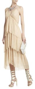 Natural Parfait Maxi Dress by BCBGMAXAZRIA