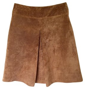 Vintage Vintage Skirt Suede leather