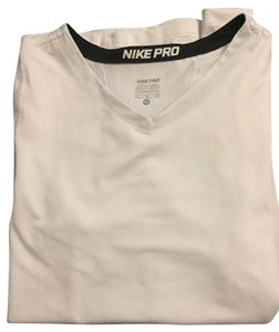 Nike Nike Pro Short Sleeve T Shirt Girls White