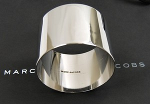 Marc by Marc Jacobs Marc By Marc Jacobs Silver Stainless Steel Bracelet Cuff Fashion Jewelry