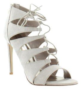 Madden Girl Taupe Platforms