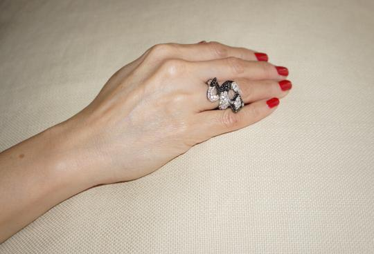 Kenneth Jay Lane Kenneth Jay Lane Silver Snake Ring