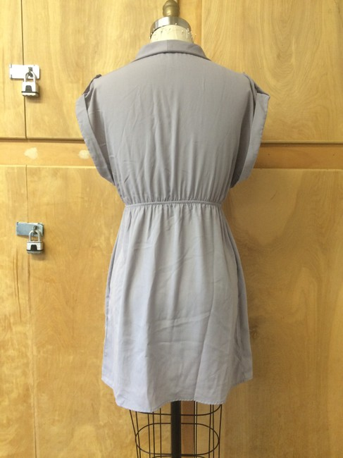 Hello Miss short dress gray on Tradesy