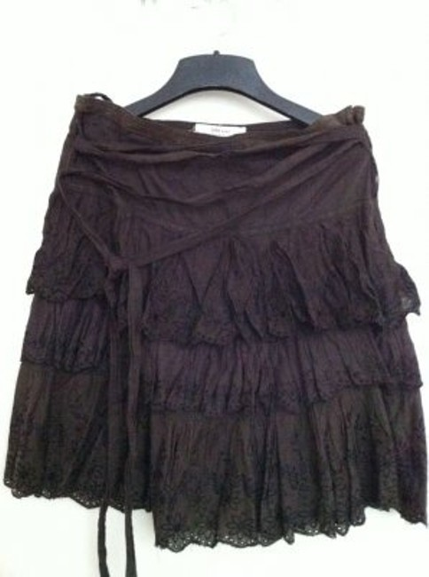Zara Skirt dark brown