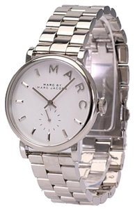 Marc by Marc Jacobs Marc by Marc Jacobs Baker White Dial Stainless Steel Ladies Watch 37mm MBM3242
