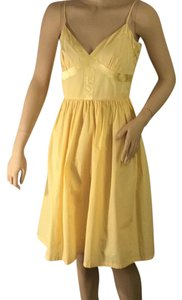 Calvin Klein short dress Yellow on Tradesy