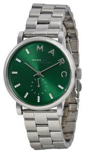 Marc by Marc Jacobs Marc by Marc Jacobs Baker Green Dial Stainless Steel Ladies Watch 36mm MBM3342