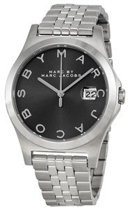 Marc by Marc Jacobs Marc by Marc Jacobs Slim Grey Dial Stainless Steel Ladies Watch 36mm MBM3348