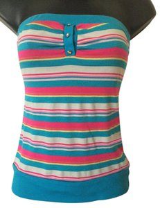 Tres Bien Tubetop Striped Tube Top