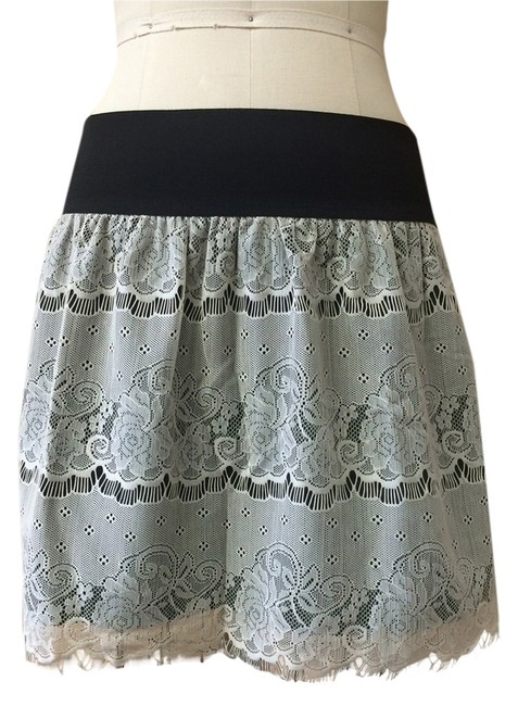 Xhilaration Mini Skirt Black/cream