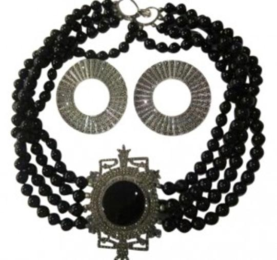 Preload https://img-static.tradesy.com/item/152753/black-onyx-with-silver-marcasite-wearrings-necklace-0-0-540-540.jpg