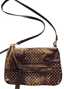 Lulu Townsend Studded Tassel Boho Western Shoulder Bag