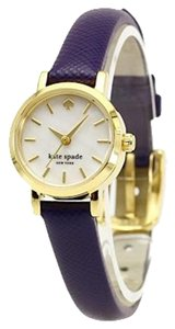 Kate Spade Kate Spade Tiny Metro Navy Leather Strap Ladies Watch 20mm 1YRU0456
