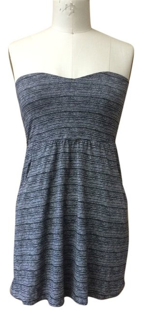Volcom short dress black/white Sleeveless Pockets on Tradesy