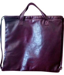 Jil Sander Tote in burgundy
