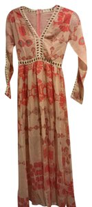 Peach Coral Maxi Dress by Urban Outfitters