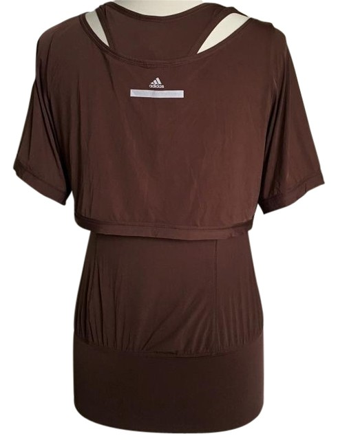 Item - Brown 2 Piece Layered Athletic Activewear Top Size 6 (S, 28)