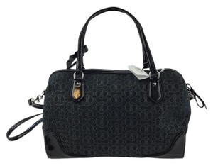 Coach Poppy East West 26426 Satchel in Black
