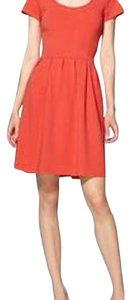Tinley Road short dress Orange Coral Stretch on Tradesy