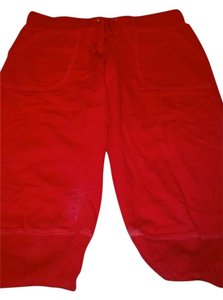 Max Rave Straight Pants Red