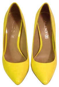 ALDO Neon yellow Pumps