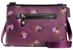 Coach Satchel 37586 Taylor Crossbody Print Shoulder Bag