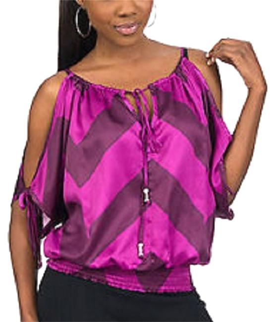 Baby Phat 1x 14/16 New W/ Out Tags Top Purple