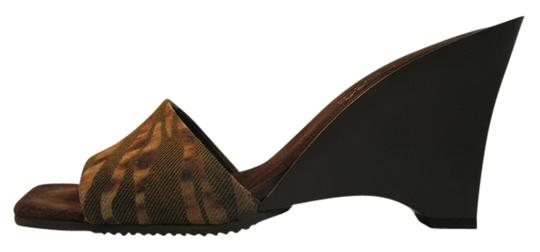 Via Spiga Chocolate Brown Mules