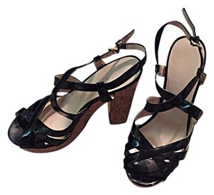 Nine West Blsck Platforms