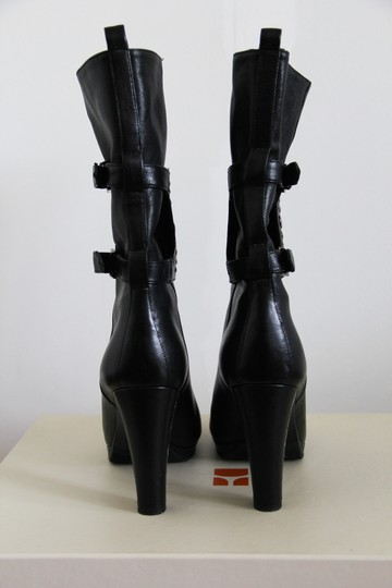Hugo Boss Ankle Ankle Studded Black Boots