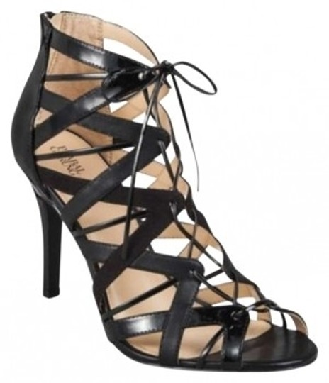 Prabal Gurung Black Sandals