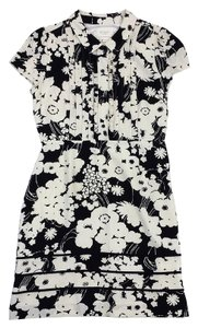 Kate Spade short dress Black & Cream Floral on Tradesy