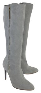 French Connection Grey Suede Molly Boots