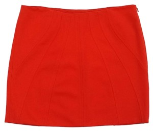 Diane von Furstenberg Poppy Colored Mini Mini Skirt