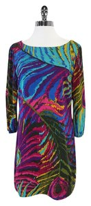 Trina Turk short dress Multi Color Abstract Print on Tradesy