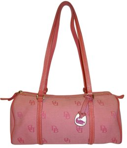 Dooney & Bourke Shoulder Refurbish Vintage Satchel in Pink
