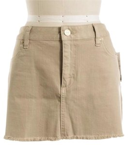 Tory Burch Mini Skirt Beige