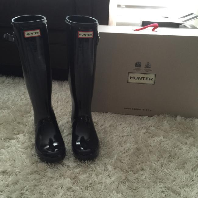 Item - Tall Gloss Boots/Booties Size US 8 Regular (M, B)