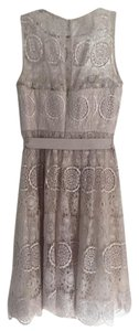 BHLDN Lace Evening Sweetheart Detail Dress