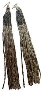Long Strand Chain Earrings
