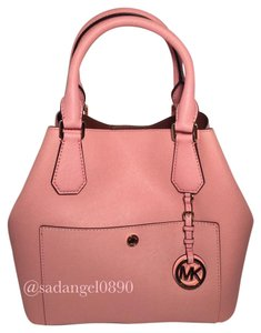 Michael Kors Tote in Pink/ Luggage