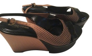 Sergio Rossi Black and brown Sandals