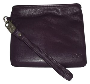 Other Everpurse iPhone 4/4S Travel Charger Purple Leather Wristlet & Charging Mat