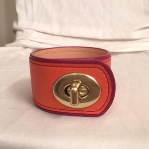 Coach Band Bangle Leather Coach