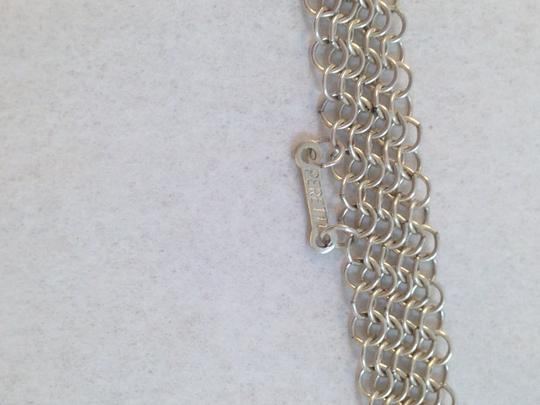 Tiffany & Co. Tiffany & Co. Sterling Silver mesh tie necklace