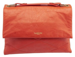 Lanvin Sugar Quilted Leather Medium Shoulder Bag