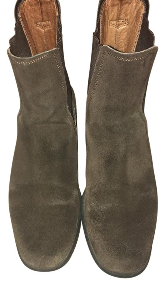 WOMEN Tod's Leather Brown Leather Tod's Boots/Booties Excellent craft dcd643