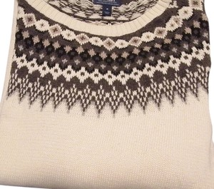 Old Navy Off Shoulder Fair Isle Sweater